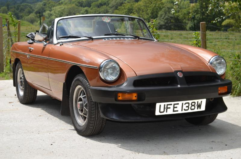 1981 MGB Roadster LE