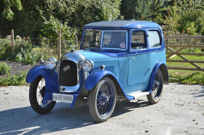 Austin Seven Swallow Saloon