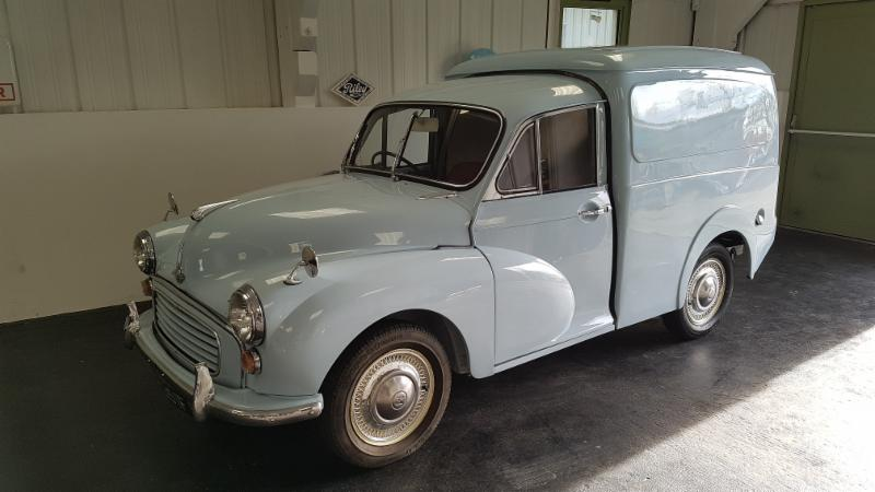 Morris Minor Van  SLP 351F