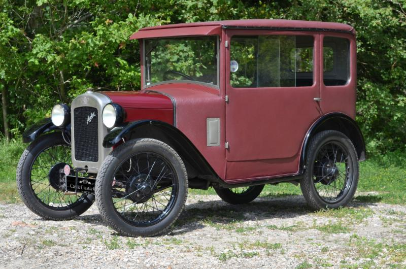 Austin Seven RK Fabric Bodied Saloon