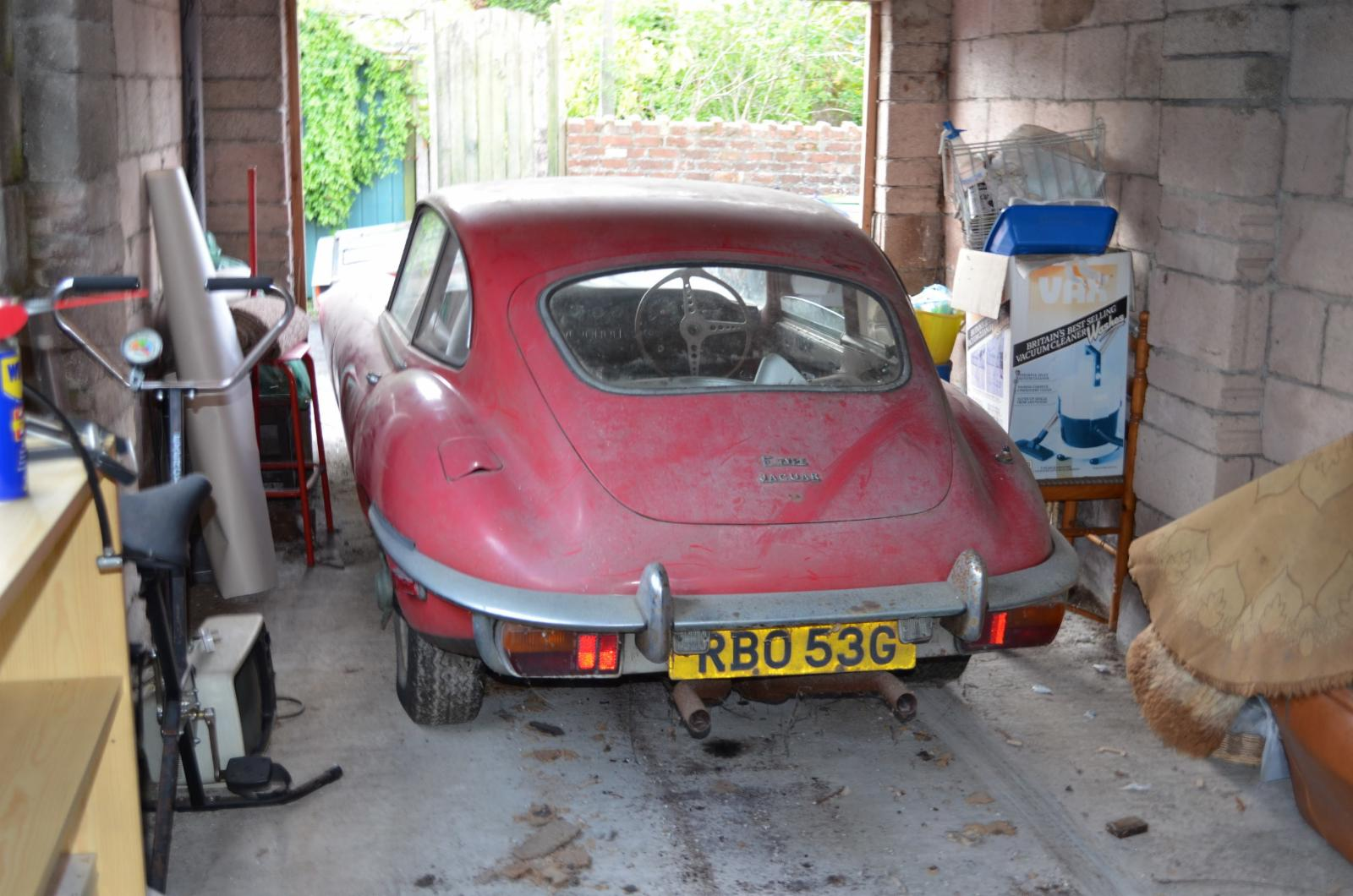 Jaguar E Type Series 2 42 Barn Find For Sale