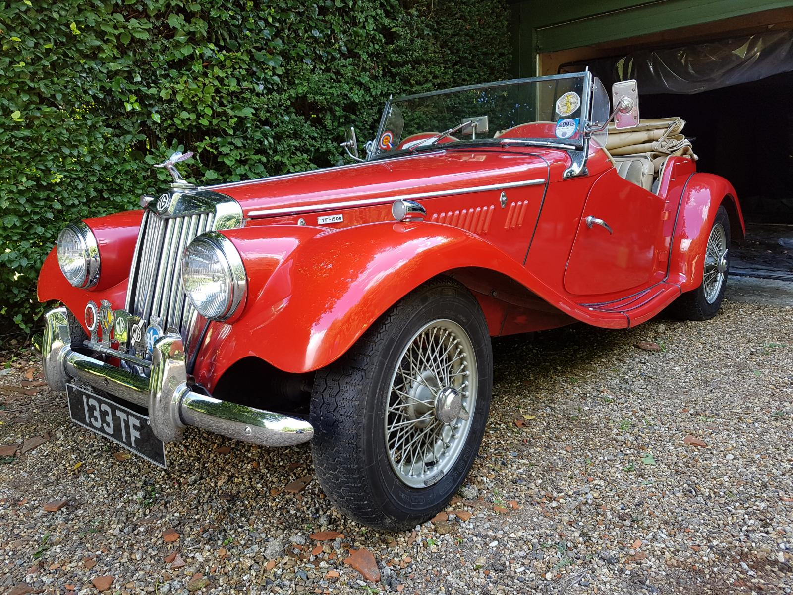 1955 Mg Tf 1500 For Sale Castle Classic Cars
