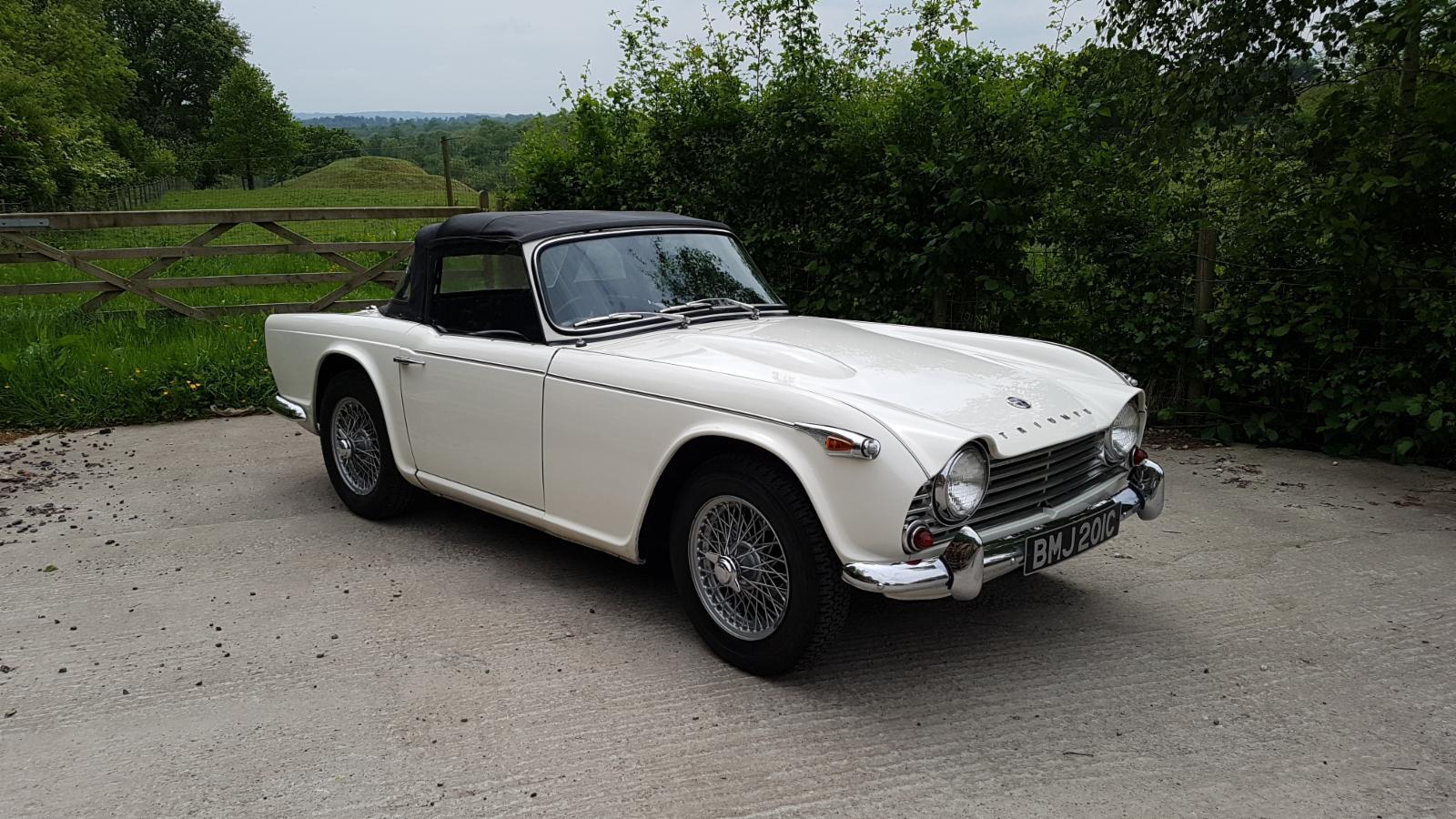 1965 Triumph Tr4a Irs For Sale Castle Classic Cars