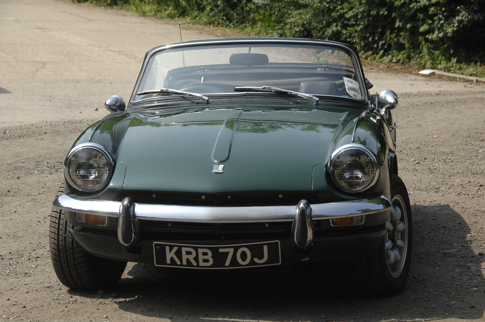 Triumph Spitfire Mk 3 For Sale Castle Classic Cars