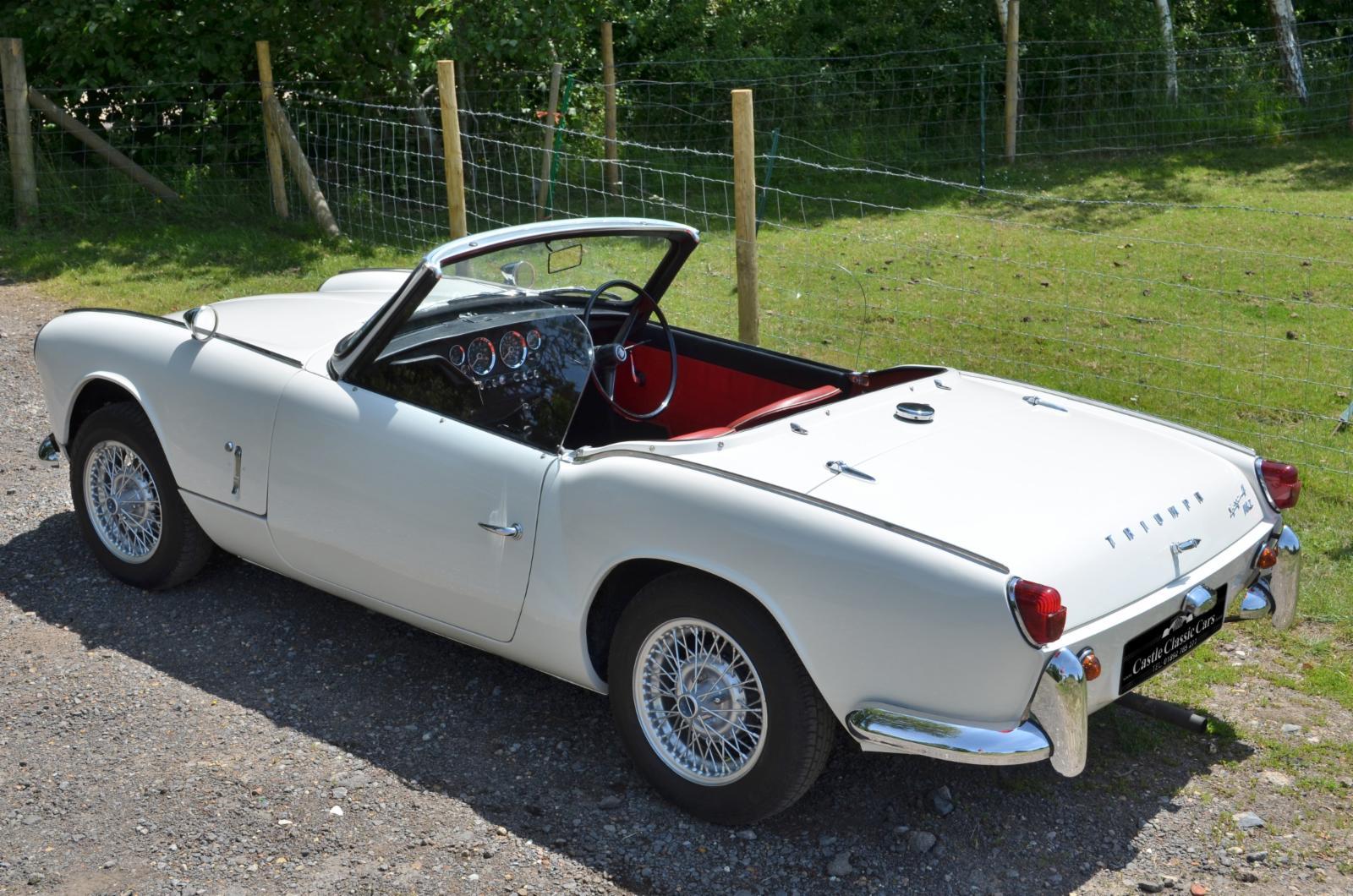 1966 Triumph Spitfire Mk 2 For Sale Castle Classic Cars